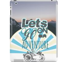 Let's Go On An Adventure  iPad Case/Skin