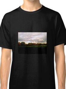 Autumn Sunset and Trees Classic T-Shirt