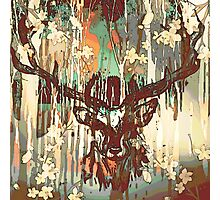 Dream Stag Photographic Print
