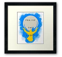 Praise the Light Framed Print