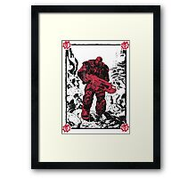Brothers to the End Framed Print