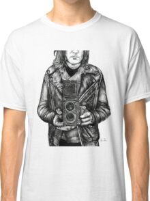 Leather Twin Lens Classic T-Shirt