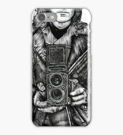 Leather Twin Lens iPhone Case/Skin