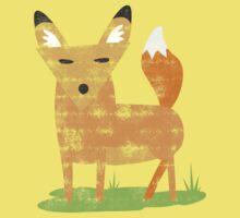woodland fox Kids Tee
