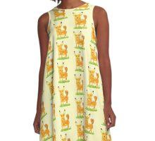woodland fox A-Line Dress