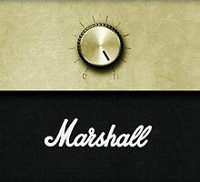 Marshall Amp by TotalPotencia