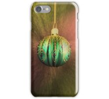 Hanging Around For Christmas iPhone Case/Skin