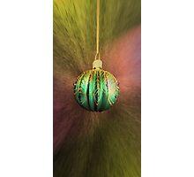 Hanging Around For Christmas Photographic Print