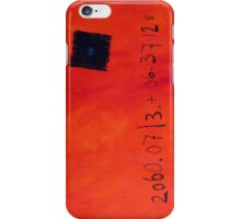 13th July 2060 iPhone Case/Skin