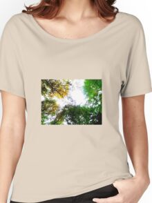 Heaven Through the Canopy  Women's Relaxed Fit T-Shirt