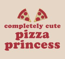 Completely cute pizza princess by jazzydevil