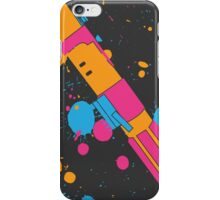 Darth Vader Lightsaber Paint Splatter (Full Color) iPhone Case/Skin