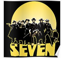 the magnificent seven moons logo Poster