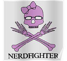 Nerdfighter Skull Poster