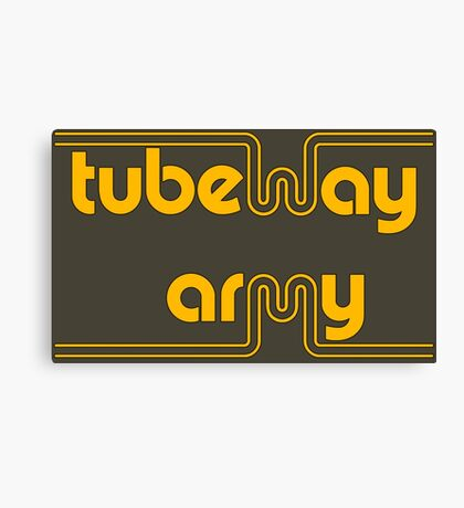 Tubeway Army Canvas Print