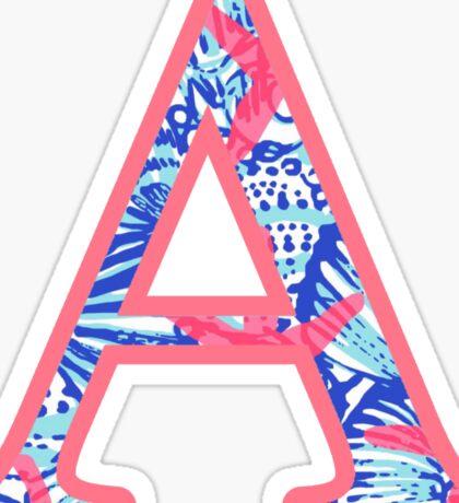 ALPHA - Ocean Coral Sticker