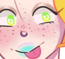 Raver Girl Sticker