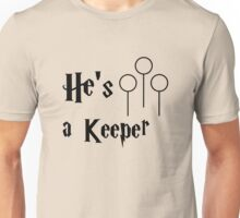 He is a Keeper Unisex T-Shirt