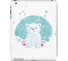 CHRISTMAS POLAR BEAR iPad Case/Skin