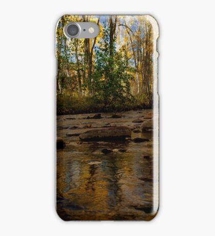 Autumn at Beaver Creek iPhone Case/Skin