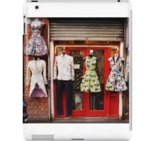 Fashion Boutique Display - Soho, London iPad Case/Skin