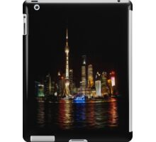 Shanghai by Night iPad Case/Skin