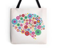 Abstract human brain, creative Tote Bag