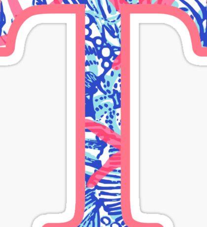 TAU - Ocean Anchor  Sticker