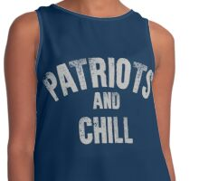 Patriots and Chill Contrast Tank