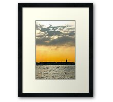 Alive Colors - Bay of Arcachon, France. Framed Print