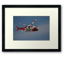 Sikorsky S-92 - Rescue 118 Framed Print