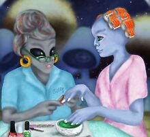 Betty's Galactic Hair and Nails Beauty Salon by Kim  Harris