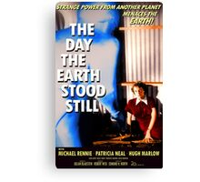 The Day The Earth Stood Still 1951 Poster Canvas Print