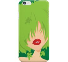 Young natural girl iPhone Case/Skin