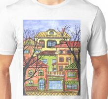 Autumn town Unisex T-Shirt