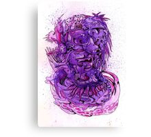 """Purple Biomass"" Canvas Print"