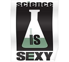 science is sexy Poster