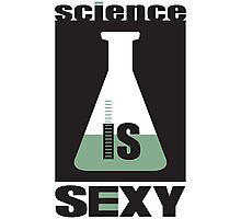 science is sexy Photographic Print