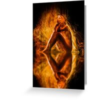 Spirit and Fire Greeting Card