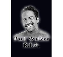 Walker RIP Photographic Print