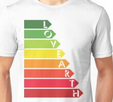 Lovearth rating Unisex T-Shirt