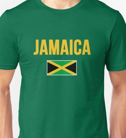 Jamaica Jamaican Flag Unisex T-Shirt