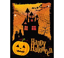 Halloween background Photographic Print
