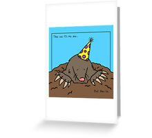 Mole Day Greeting Card