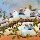 Finch Family Tree by Carol  Cavalaris