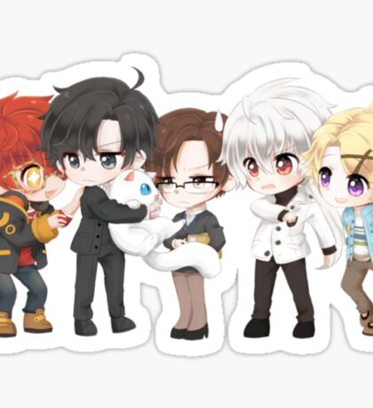 Mystic Messenger Print Sticker