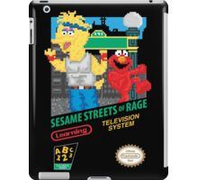 Sesame Streets of Rage iPad Case/Skin