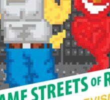 Sesame Streets of Rage Sticker