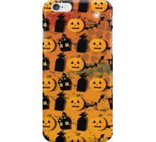 Halloween wallpaper iPhone Case/Skin