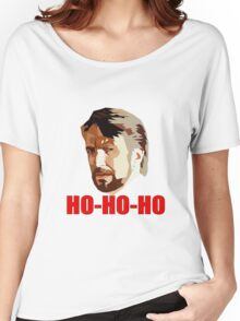 Hans Gruber. Ho Ho Ho. Christmas Design Women's Relaxed Fit T-Shirt